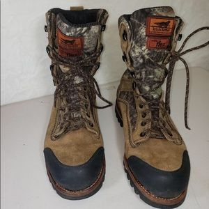 Irish Setter men's used boots size 9, fixed price